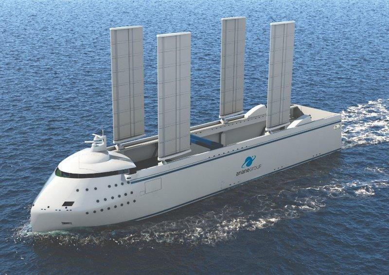 Canopee Vessel offshore animation
