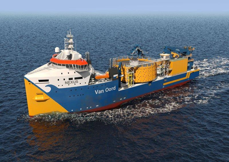 van Oord offshore animation
