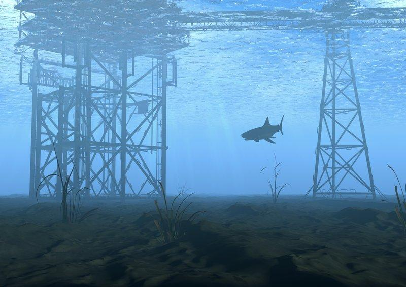 offshore platform animation