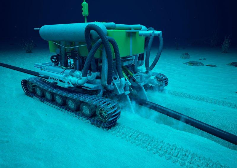 subsea rov animation