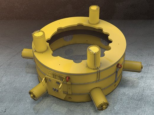 IEC Delivered Pile Gripper Animation to IRM Company